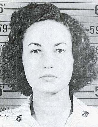 Bea Arthur - 1943 United States Marine Corps identification card photo