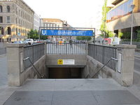 U2 Mohrenstraße entrance.jpg