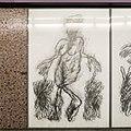 U2 Museumsquartier Kunst Bahnsteig 2 Zeichnung 04 Die Erdmutter.jpg