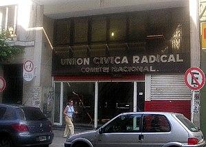 Comité Nacional de la UCR en Buenos Aires