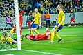 UEFA EURO qualifiers Sweden vs Romaina 20190323 GOAL 2-1.jpg