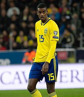 Alexander Isak Swedish footballer