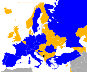 UEFA Euro 2008 qualifying - Image: UEFA Euro 2008 Qualifiers Map
