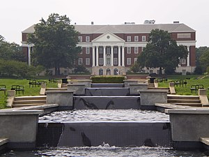 University of Maryland Libraries - Front view of McKeldin.