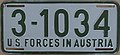 US-Forces-in-Austria USFA 1953 license plate 3-1034.jpg