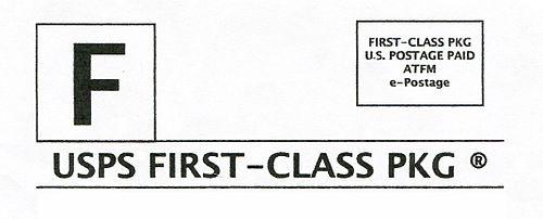 USA Stamp Type PC F14