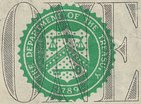 The modern seal of the United States Departmen...