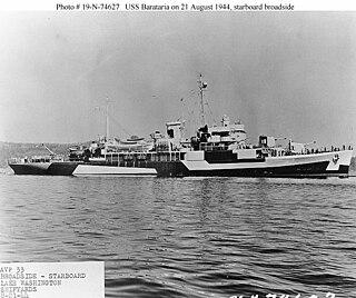 USS <i>Barataria</i> (AVP-33)
