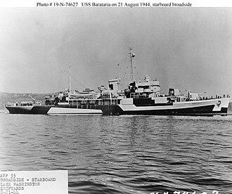 USS Barataria (AVP-33) - USS Barataria (AVP-33)