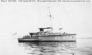 USS Caliph - Image: USS Caliph (SP 272)