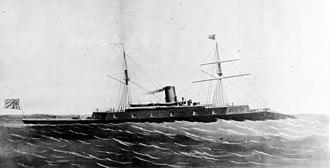 Etna Iron Works - Image: USS Dunderberg cropped