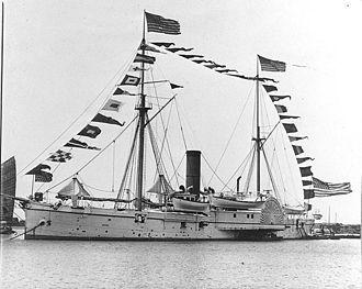 Samuel P. Carter - USS Monocacy (1864)