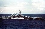 USS North Carolina (BB-55) underway in the Gilbert islands, November 1943.jpg