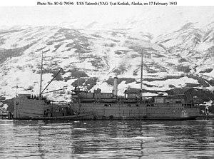 USS Tatoosh (YAG-1) Kodiak Alaska