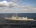 US Navy 030122-N-9851B-005 Turkish NATO Oliver Hazard Perry-class frigate TCG Gediz (F-495).jpg