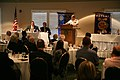 US Navy 110907-N-YM440-047 Rear Adm. Douglas J. McAneny, commandant of the National War College, speaks to the Omaha Rotary Club.jpg