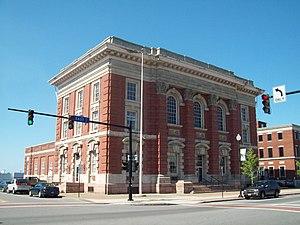 United States Post Office (Lockport, New York) - US Post Office-Lockport, June 2009