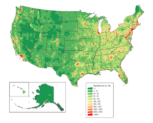 Summary Category:U.S. State Population Maps Ca...