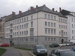 Uferstraße in Chemnitz