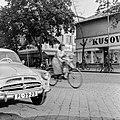 Ulica Tomása Garrigue Masaryka, szemben az ulica Jána Amosa Komenského torkolata. Fortepan 53901.jpg