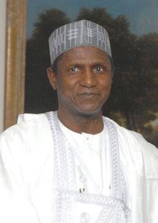 Umaru Musa YarAdua President of Nigeria