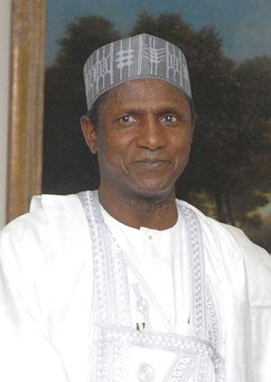 Umaru Musa Yar'Adua - Yar'Adua in 2007.