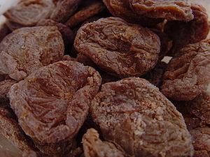 Umeboshi - Dry umeboshi