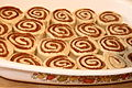 Uncooked cinnamon roll buns in pan, March 2010.jpg