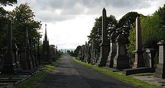 Undercliffe Cemetery - Image: Undercliffe Cemetery Promenade