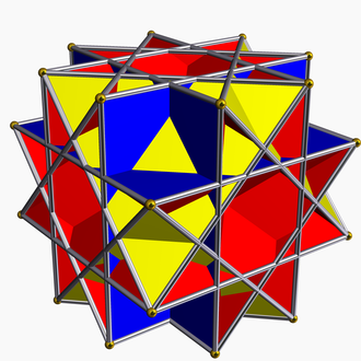 Crossed square cupola - Image: Uniform great rhombicuboctahedron