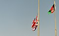 Union Flag Lowering Ceremony at Camp Bastion MOD 45158412.jpg
