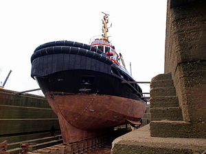 Union Grizzly in dry-dock of Antwerp pic7.JPG