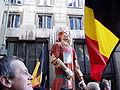 United Belgium Brussels demonstration 20071118 DMisson 00056 Belliard street Thyl Uilenspiegel giant.jpg