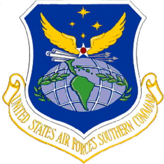 605th Special Operations Squadron - Image: United States Air Forces Southern Command Emblem
