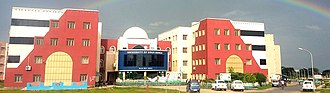 English Bazar - The main building of the University of Gour Banga