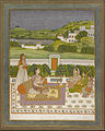 Unknown Indian - Princess Listening to Music - Google Art Project.jpg