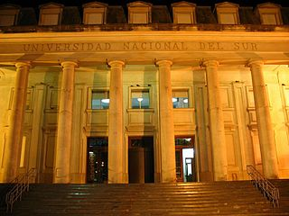 national university in southern Argentina