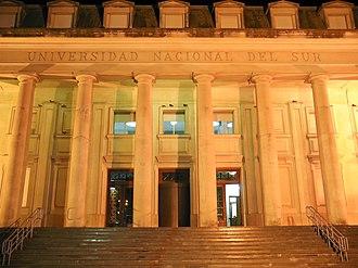 Universidad Nacional del Sur - Image: Uns 03