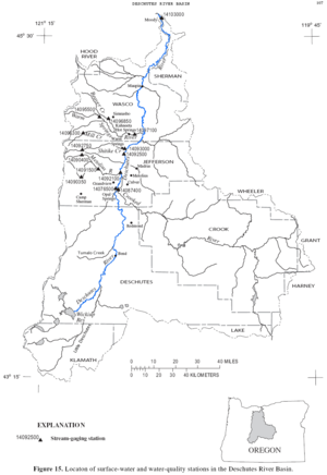 Deschutes River (Oregon) - Wikipedia on