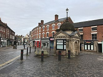Uttoxeter - 2017 - Uttoxeter Market Square