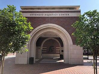 Uytengsu Aquatics Center - Image: Uytengsu Aquatics Center Trojan