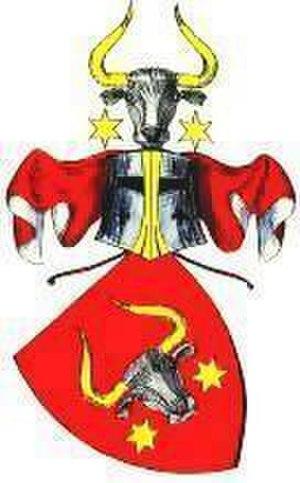 Friedrich von der Trenck - Coat of arms of the noble family von der Trenck, known as Stier