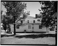 VIEW OF NORTH FACADE - Fort Belknap Indian Agency, Employees Club, Fort Belknap, Blaine County, MT HABS MONT,3-FOBEL,1-A-5.tif