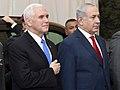 VP Pence meet with PM Netanyahu (24971625537).jpg