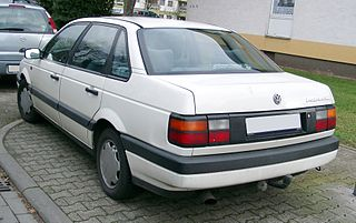 Volkswagen Passat B3 Motor vehicle