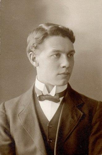 Väinö Kohtanen - Väinö Bernhard Kohtanen 1912