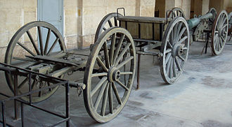 Valée system - Valée artillery train for a canon de 12.