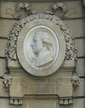 Musée Valentin Haüy - Valentin Hauy.