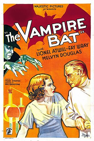 The Vampire Bat - Theatrical release poster