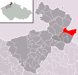 Location of Varnsdorf